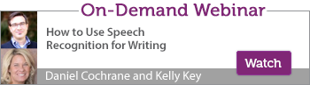 On-Demand Speech Recognition for Writing