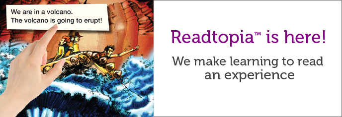 Readtopia is here! We make learning an experience