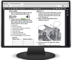 Snap&Read reading a PDF quiz on desktop