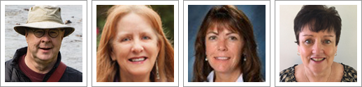 webinar presenters: Don Johnston, Caroline Musselwhite, JeanMarie Jacoby, and MaryAnn McGinn