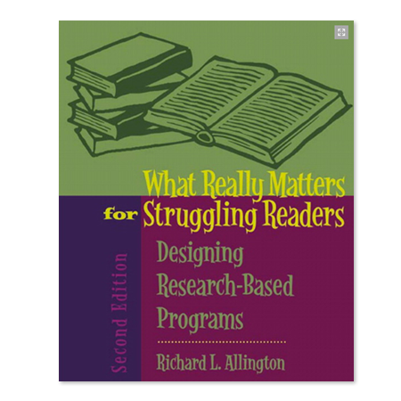 What Really Matters for Struggling Readers Book Cover Graphic