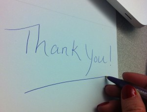 thank you_writing