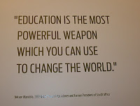 education mandela