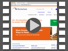 Watch to see how Snap&Read makes Bookshare even better!