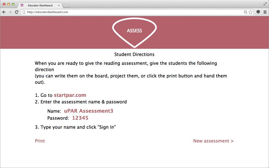 uPAR-student-directions