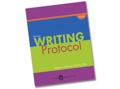 DeCoste Writing Protocol Book Cover Graphic