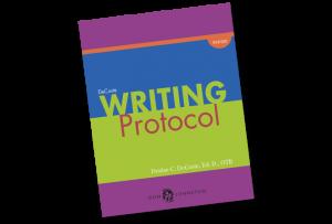 DeCoste Writing Protocol Book Cover Graphic