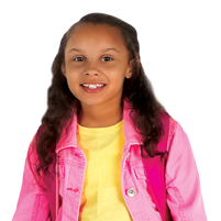 Student in Pink Jacket