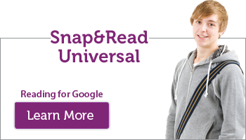 Snap&Read Universal Graphic