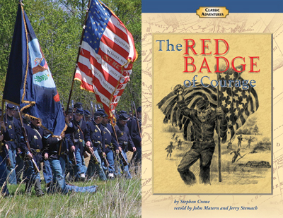 American Civil War, anchored by The Red Badge of Courage