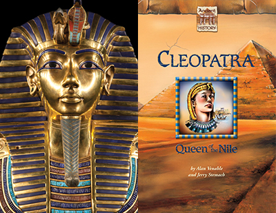 Ancient Egypt, anchored by Cleopatra: Queen of the Nile