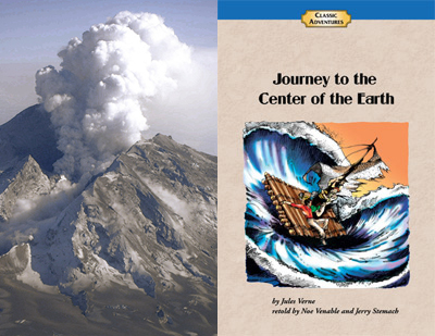 Ancient Earth, anchored by Journey to the Center of the Earth