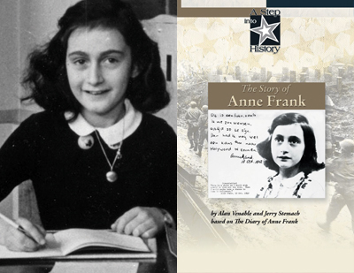 World War II, anchored by The Story of Anne Frank