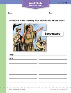 Word study sample