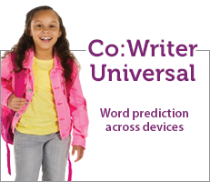 Co:Writer Universal word prediction across devices