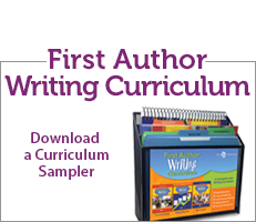 First Author Writing Curriculum