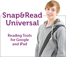 Snap&Read Universal reading tools for Google and iPad