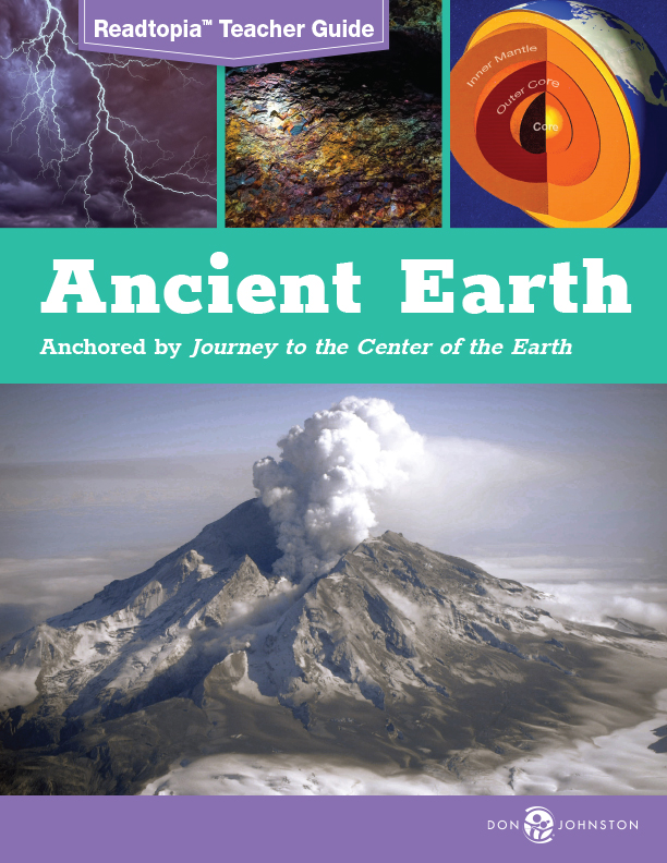 Readtopia Ancient Earth thematic unit teacher guide cover