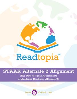 Readtopia Texas STAAR Alternate 2 Alignment