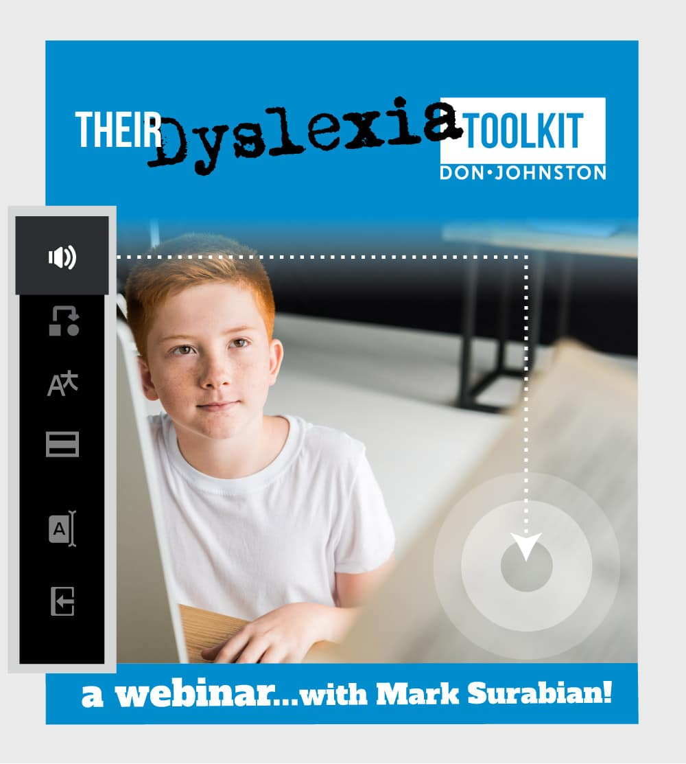 Their Dyslexia Toolkit, A webinar with Mark Surabian